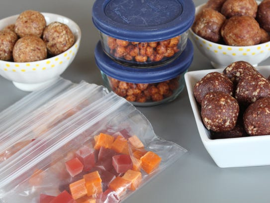 Pack healthy homemade snacks for upcoming spring and