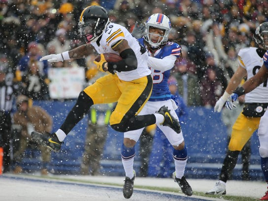 Ronald Darby was a two-year starter for the Bills,