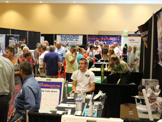 The 12th annual Hurricane Preparedness Expo at the Port St. Lucie Civic Center is 10 a.m. to 2 p.m. Saturday at 9221 S.E. Civic Center Place.