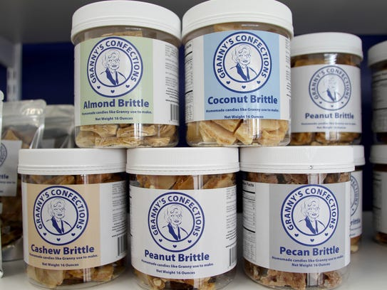 Varieties available at Granny's Confections, including