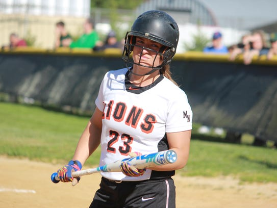 Kayla Gallo of Middletown North