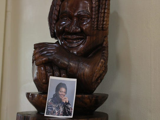 """Tasha."" One carving by Rickey Lee, a master carver"