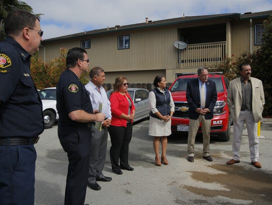 Salinas officials met with officials from Quiroga,