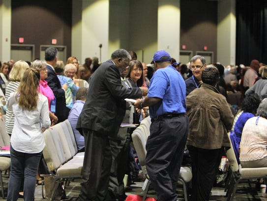Voting delegates to the South Carolina Conference of