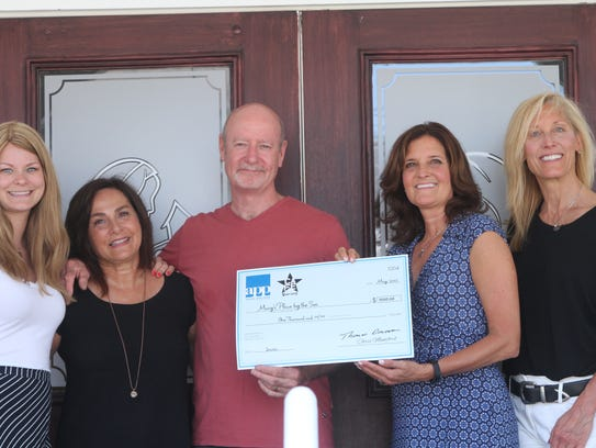 Mary's Place by the Sea check presentation