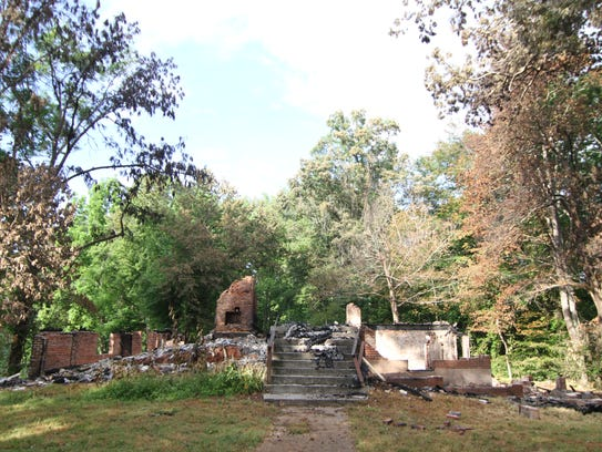 Little of value remains of the old homesite following
