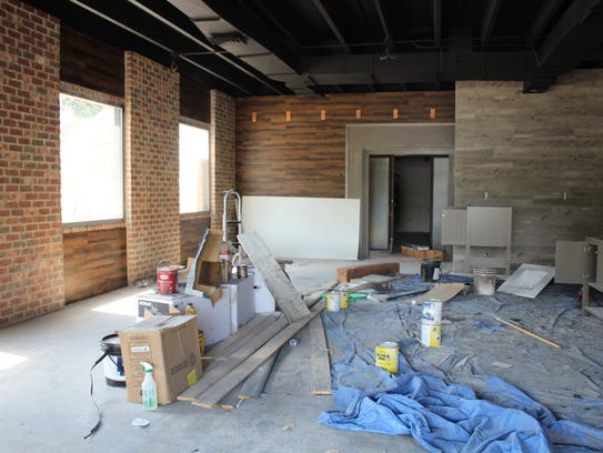 The dining room will have a 12-foot communal table,