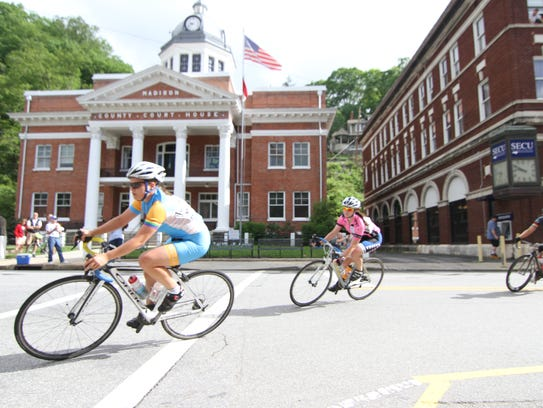 Marshall hosted the USA Cycling Collegiate Road National