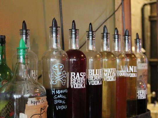 Kraftworks' Karl Knudson infuses his own vodkas for