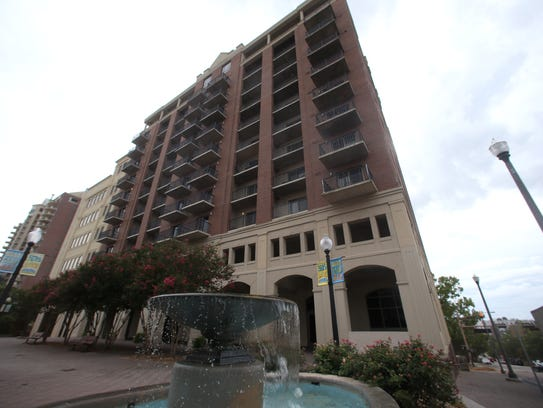 The Tallahassee Center, a 114-unit condominium tower