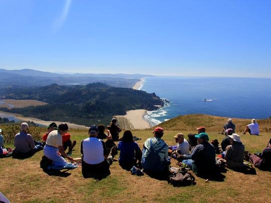 Visitors to the Oregon Coast — including Cascade Head