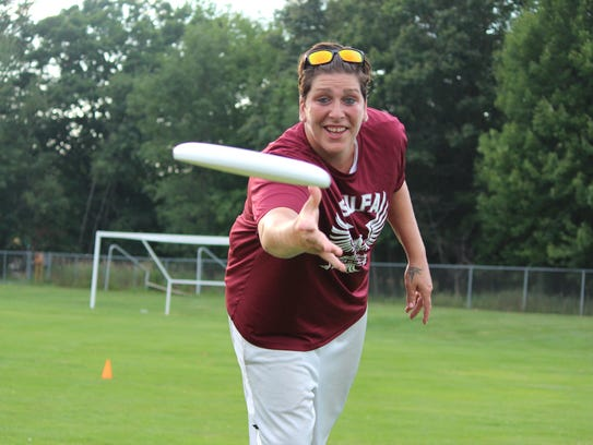 SPASH graduate Janel McCarville is taking a break from