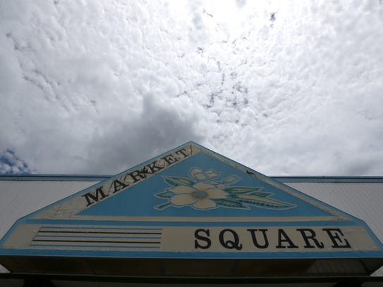 The Market Square shopping center has been nearly abandoned