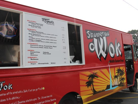 Shawerma Wok, the new food truck on Commercial Street