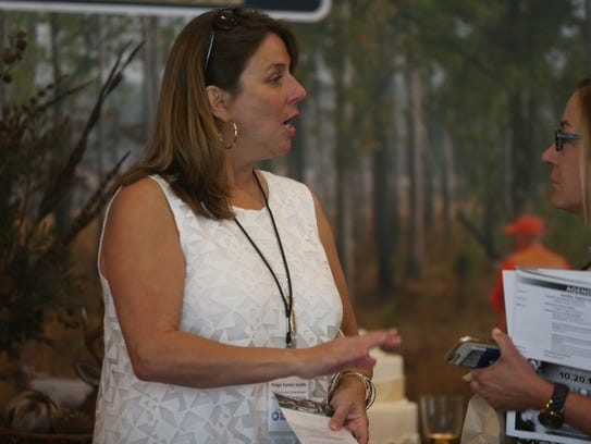 Paige Carter-Smith at the Greater Tallahassee Chamber