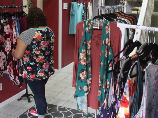 Curvy Sisters Boutique in Erin, Tenn., is a new store