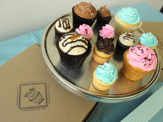 All of the cupcakes, cakes and cookies from Coco &