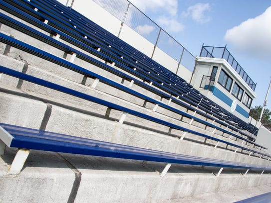 Memorial Stadium received a face lift this summer as