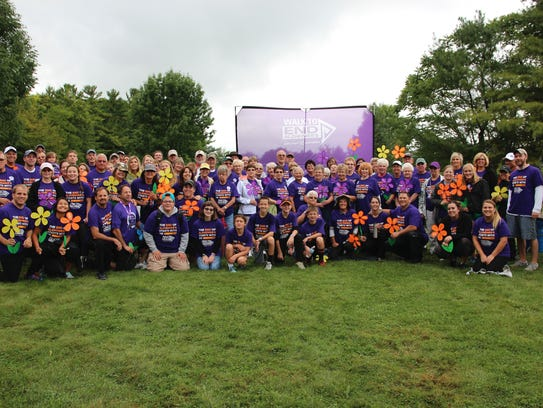 Team Generations from Plymouth at the 2016 Walk to