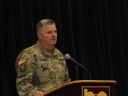 Maj. Gen. Glenn Curtis, adjutant general of the Louisiana