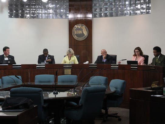 County Commissioners John Dailey, Nick Maddox, Mary
