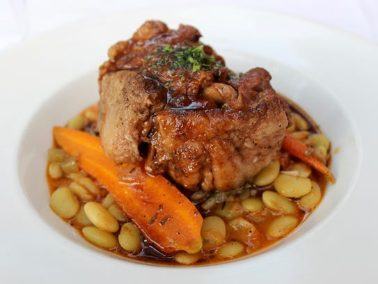 The Deep South oxtail is so tender it practically drops