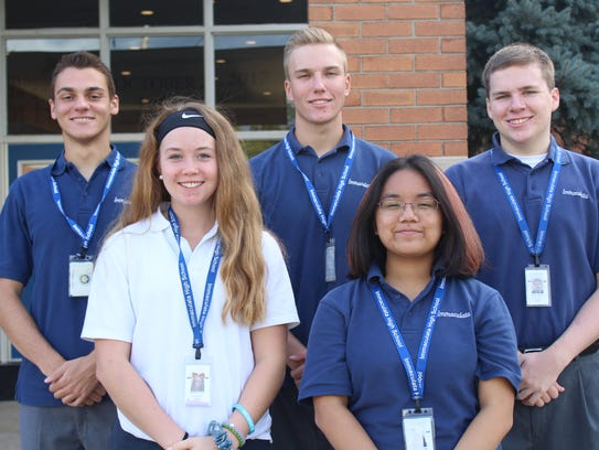 Five Immaculata seniors were recently recognized as