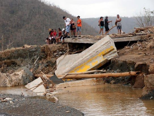 Imágenes de los daños y el caos que armó el huracán
