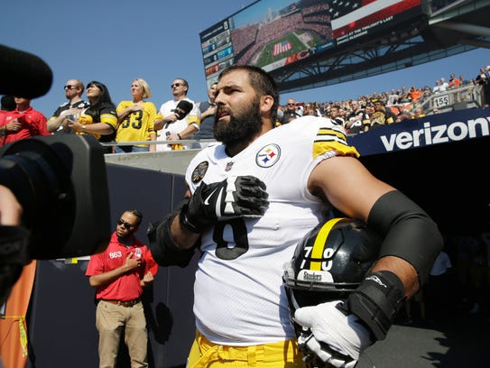 Pittsburgh Steelers offensive tackle and former Army