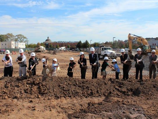 Groundbreaking for the new Seaman Avenue Elementary