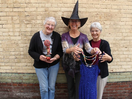 Barbara Lacey, Judy Quenzel and Ellie Parker at the