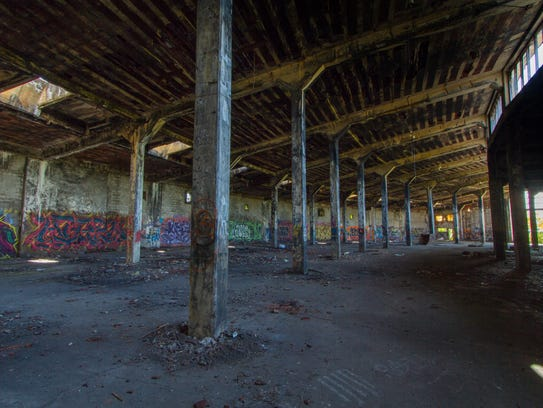 Lehigh Valley Railroad Roundhouse, Manchester, Ontario