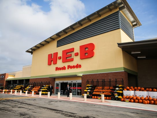 The new H-E-B San Angelo #2 at 5502 Sherwood Way opened Oct. 20, 2017.