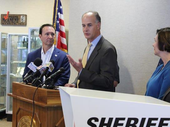 Bossier Sheriff Julian Whittington shared that the