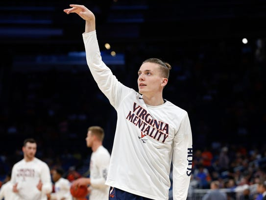 Kyle Guy, Virginia, So. (Lawrence Central/Indianapolis)