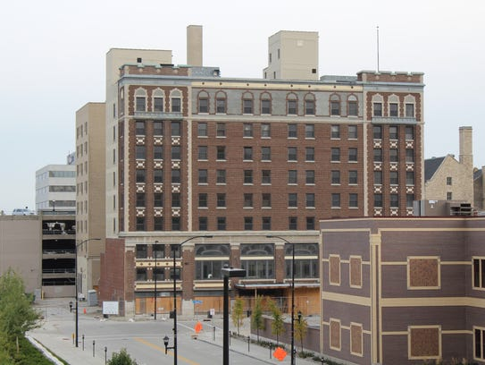 Work on the Hotel Northland is expected to resume later