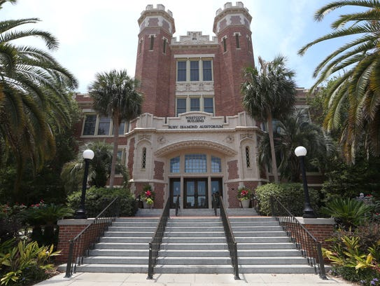 The Westcott Building on Florida State University's