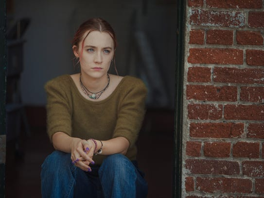 "Saoirse Ronan is terrific in ""Lady Bird,"" Greta Gerwig's"