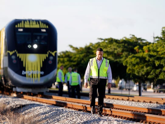 A person was hit and killed by a Brightline train Nov.