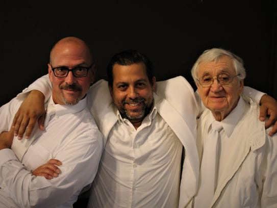 """Lab Theater's """"An Act of God"""" features actors (from"""
