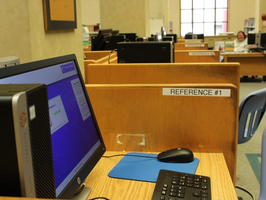 Fewer residents are using computers at the Shreve Memorial,