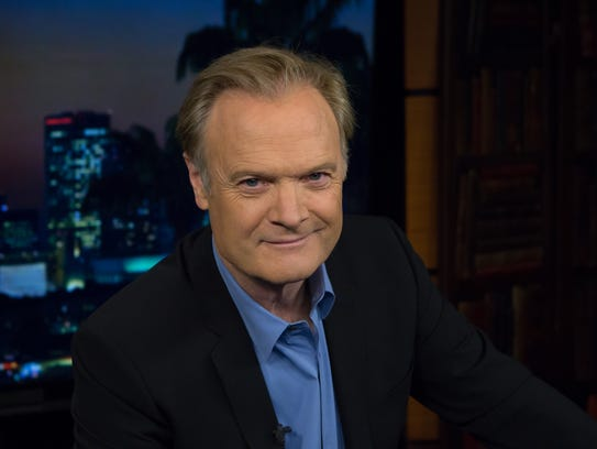 Author Lawrence O'Donnell.