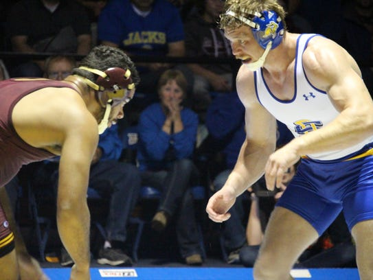 Brady Ayers scored an 8-6 overtime win for SDSU over