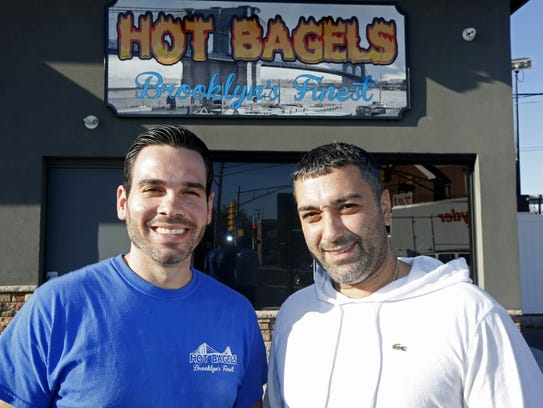 (Left to Right) Nikos Zaires and Mike Gambale, owners