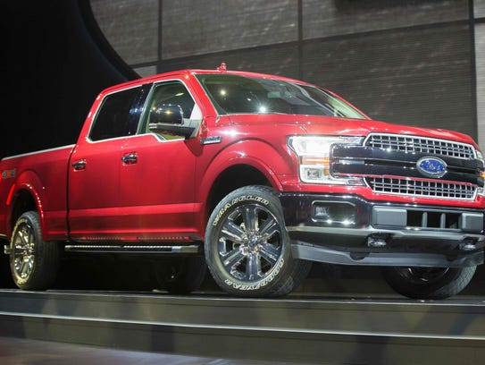 Motor Trend named the Ford F-150 Truck of the Year
