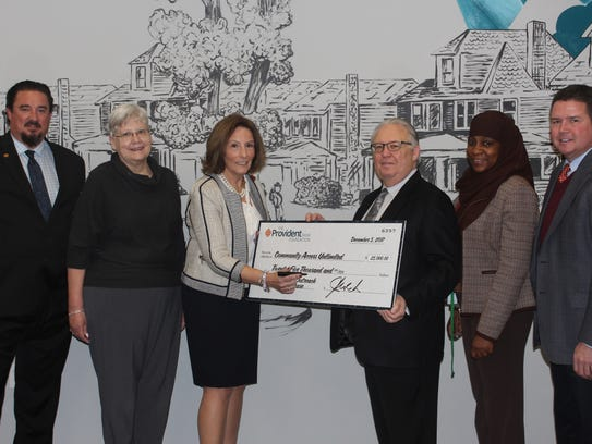 Community Access Unlimited receives a $25,000 Major