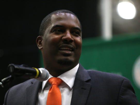 FAMU's new Head Football Coach Willie Simmons speaks