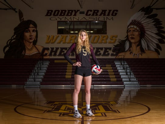South Texas Volleyball Most Valuable Player Bethany