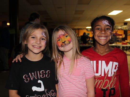 Children enjoying the Community Alliance Against Drugs,