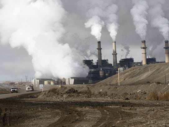 San Juan Generating Station is pictured in a file photo